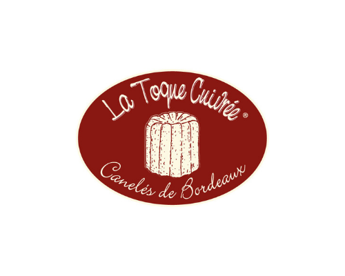 The Logo of la Toque cuivrée which create a canelés box at the effigy of the Museum of natural history of Bordeaux – Science and nature. They support by this patronage the Early years museum.