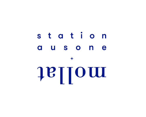 The logo of the Station Ausone which created a video about the reopening of the Museum of natural history of Bordeaux now called Museum of Bordeaux – Science and nature.