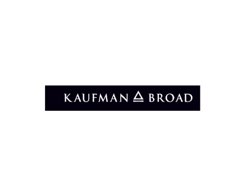 The Logo of Kaufman & Broad which support financially the Museum of natural history of Bordeaux – Science and nature