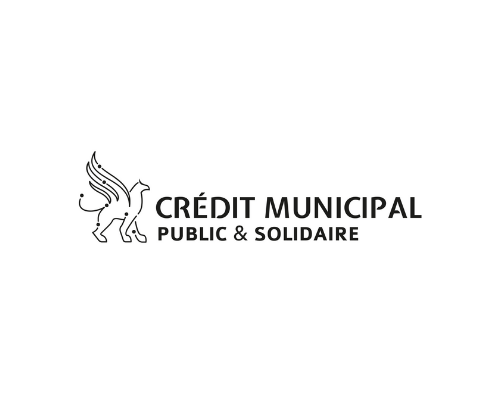 The logo of the Crédit Municipal which did a donation to the Museum of natural history of Bordeaux – Science and nature. They had been allowed to visit the exhibition with a comment of the scientific statement wich is the nature as seen by humans.