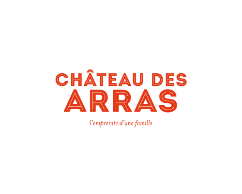 The Logo of le Château des Arras which offer the wine for the inauguration of the Museum of Bordeaux – Science and nature
